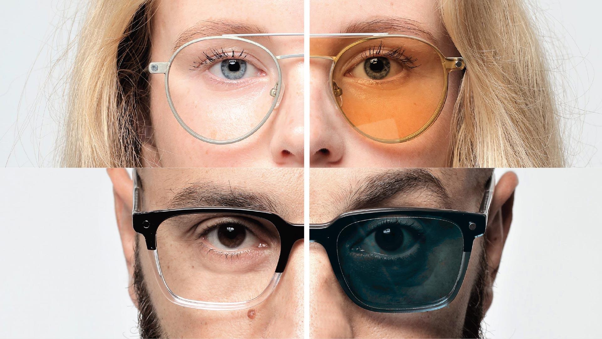Occhiali da vista snob con clip on magnetica ottica tonetto